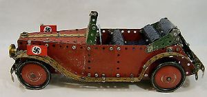 Meccano 1930s Constructor Set Third Reich Staff Car - assembled. - SOLD